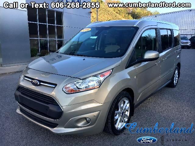 2014 Ford Transit Connect Wagon Titanium w/Rear Liftgate LWB