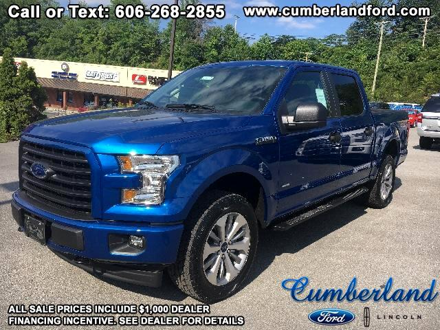 "2017 Ford F-150 4WD SuperCrew 145"" STX"