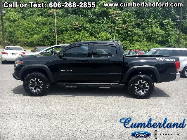 2016 Toyota Tacoma Double Cab V6 Manual 4WD