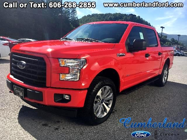 "2017 Ford F-150 4WD SuperCab 145"" STX"