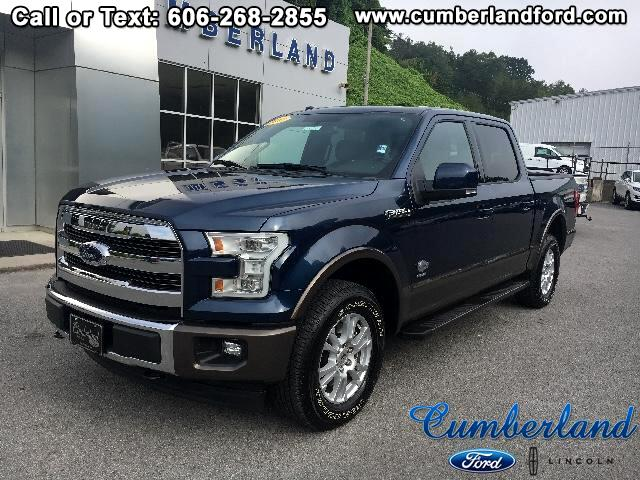 "2017 Ford F-150 4WD SuperCrew 145"" King Ranch"