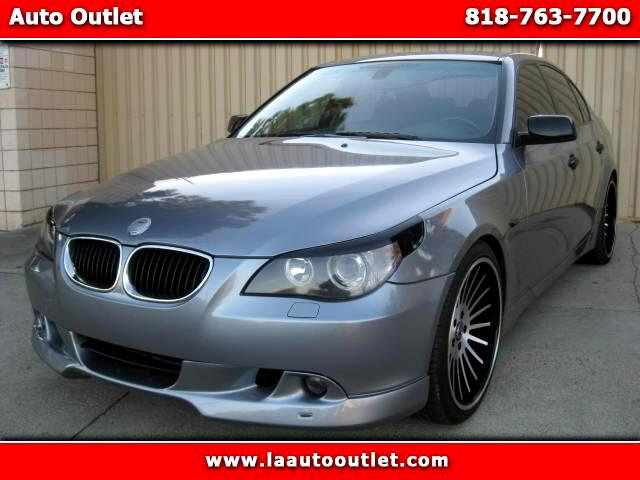 2004 BMW 5-Series 2004 BMW 530 I SPORTS PACKAGE IS CARFAX CERTIFIED SUPER CLENA CAR AUTOMATIC HAS 1