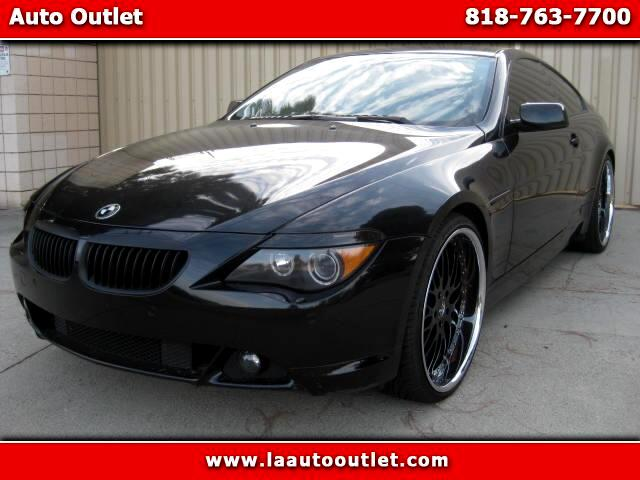 2006 BMW 6-Series 2006 BMW 650 I COUPE SPORTS PREMIUM PACKAGE IS CARFAX CERTIFIED SUPER CLEAN CAR A