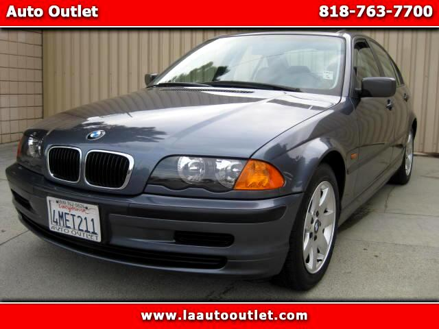 2000 BMW 3-Series 2000 BMW 323I IS CARFAX CERTIFIED ONE OWNER CAR AUTOMTIC HAS LOW 93996 GRAY WITH