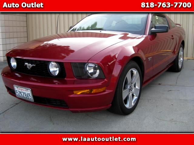 2006 Ford Mustang 2006 FORD MUSTANG GT COUPE IS CARFAX CERTIFIED SUPER CLEAN CAR 5 SPEED MANUAL HAS