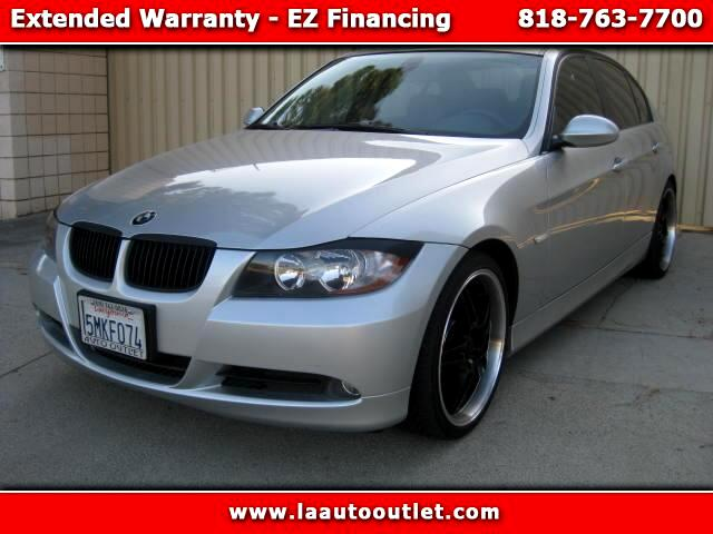2006 BMW 3-Series 2006 BMW 325I POWER PACKAGE IS CARFAX CERTIFIED SUPER CLEAN CAR SILVER WITH BLACK