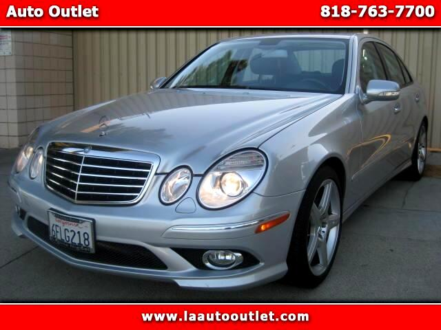 2009 Mercedes E-Class 2009 MBZ E35O SPORTS PACKAGE IS CARFAX CERTIFIED SUPER CLEAN SEDAN NAVIGATION