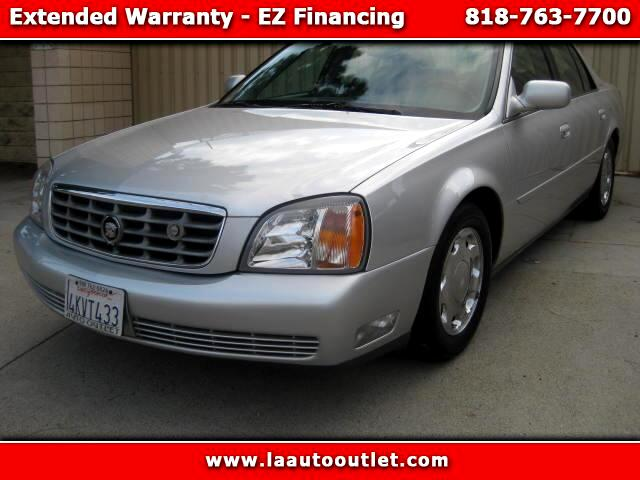 2000 Cadillac DeVille 2000 CADILLAC DEvILLE DHS IS CARFAX CERTIFIED SUPER CLEAN CAR AUTOMATIC HAS L