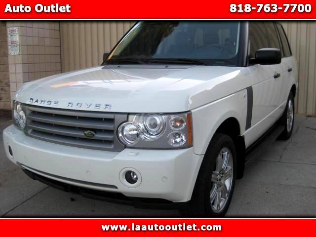 2008 Land Rover Range Rover 2008 LAND ROVER RANGE ROVER HSE IS SUPER CLEAN DRIVES EXCELLENT AUTOM