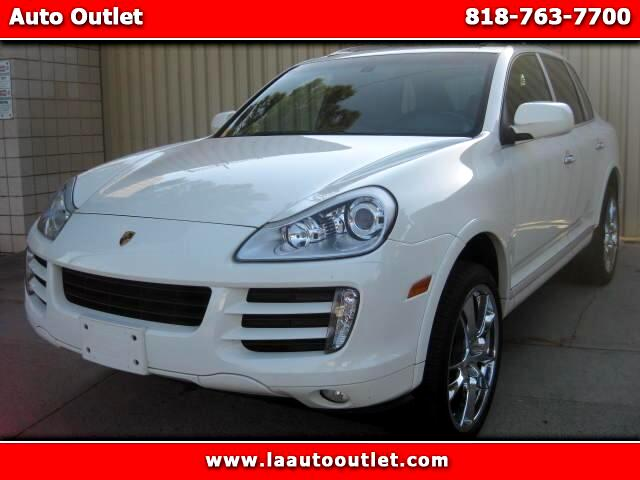 2008 Porsche Cayenne 2008 PORSCHE CAYENNE S IS CARFAX CERTIFIED SUPER CLEAN SUV WHITE WITH BLACK HE