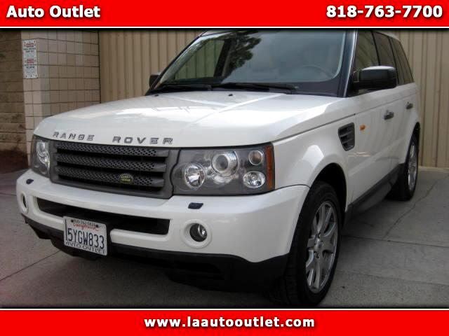 2007 Land Rover Range Rover Sport 2007 LAND ROVER RANGER ROVER SPORT HSE IS SUPER CLEAN DRIVES EXCEL