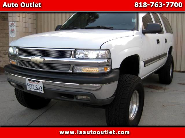 2004 Chevrolet Suburban 2004 CHEVROLET SUBURBAN LS IS SUPER CLEAN LOADED SUV WHITE WITH GRAY CLOTH