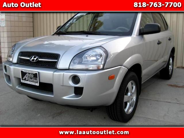 2008 Hyundai Tucson 2008 HYUNDAI TUCSON GLS IS SUPER CLEAN ONE OWNER CAR SILVER WITH GRAY CLOTH INT