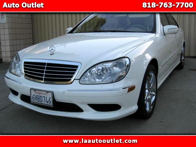 2006 Mercedes S-Class 2006 MBZ S430 SPORTS PACKAGE IS CARFAX CERTIFED SUPER CLEAN CAR WHITE WITH CR