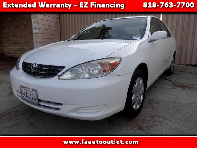 2003 Toyota Camry 2003 TOYOTA CAMRY LE 4 DR SEDAN IS CARFAX CERTIFED SUPER CLEAN CAR AUTOMATIC HAS