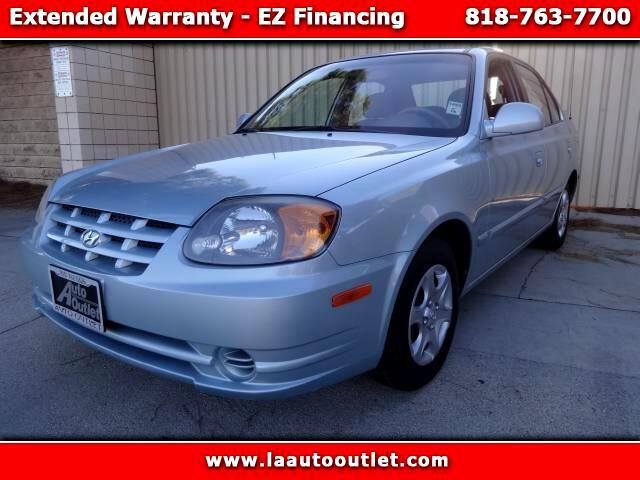 2004 Hyundai Accent 2004 HYUNDAI ACCENT GL IS CARFAX CERTIFIED SUPER CLEAN CAR AUTOMATIC HAS LOW 50