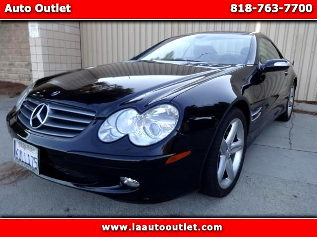 2005 Mercedes SL-Class 2005 MBZ SL 500 IS CARFAX CERTIFIED SUPER CLEAN DRIVES EXCELLENT AUTOMATIC H