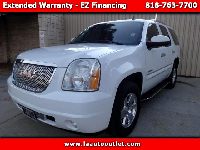 2007 GMC Yukon Denali 2007 GMC YUKON DENALI AWD IS CARFAX CERTIFIED 1 OWNER CAR WHITE WITH BLACK HE