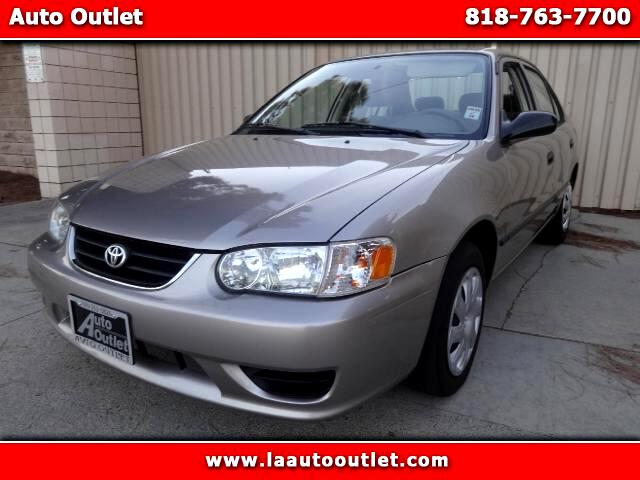 2001 Toyota Corolla 2001 TOYOTA COROLLA CE IS CARFAX CERTIFIED SUPER CLAN CAR AUTOMATIC HAS 83363 M