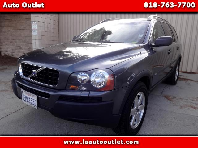2005 Volvo XC90 2005 VOLVO XC90 25 T AWD IS CARFAX CERTIFIED SUPER CLEAN CAR GRAY WITH BLACK LEATH