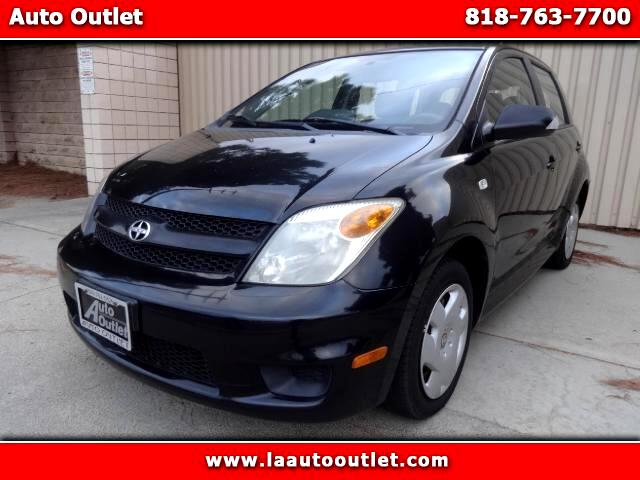2006 Scion xA 2006 SCION XA HATCHBACK IS SUPER CLEAN DRIVES EXCELLENT BLACK WITH GRAY INTERIOR 5 S