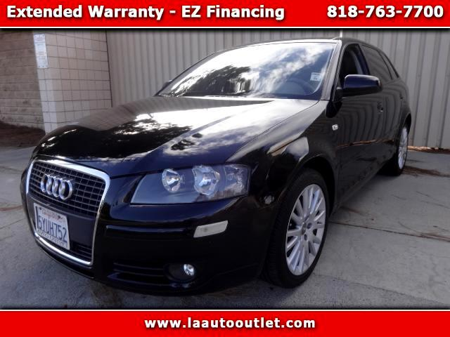 2007 Audi A3 2007 AUDI A3 20 T PREMIUM IS CARFAX CERTIFIED SUPER CLEAN CAR AUTOMATIC HAS 89143 MIL