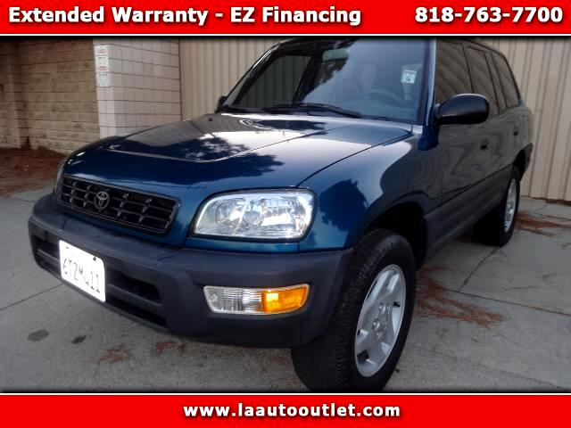 2000 Toyota RAV4 2000 TOYOTA RAV4 IS CAR FAX CERTIFIED ONE OWNER SUV 5 SPEED MANUAL HAS LOW 75444 M