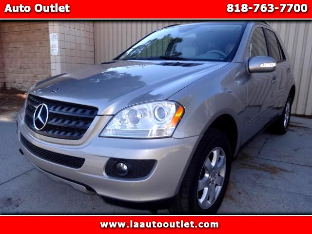 2006 Mercedes M-Class 2006 MBZ ML350 IS CAR FAX CERTIFIED ONE OWNER SUV AUTOMATIC HAS 139067 MILES