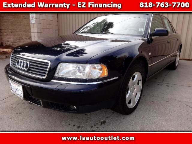2000 Audi A8 2000 AUDI A8 QUATTRO IS AUTO CHECK CERTIFIED SUPER CLEAN CAR AUTOMATIC HAS 117717 MILE