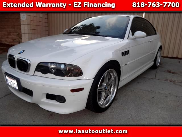 2003 BMW M3 2003 BMW M3 IS AUTO CHECK CERTIFIED SUPER CLEAN CAR WHITE WITH GRAY LEATHER INTERIOR S