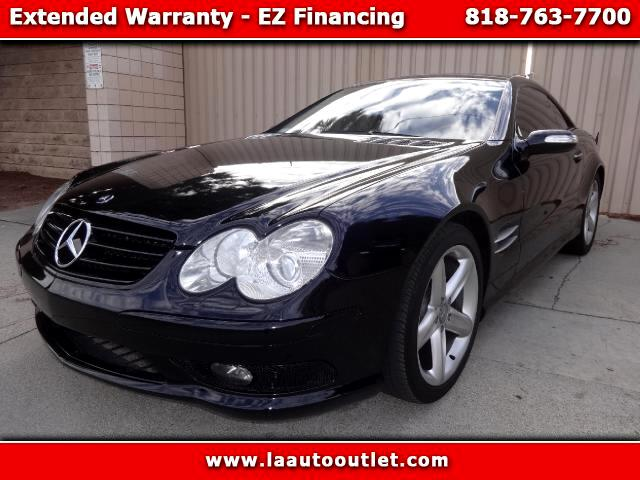 2005 Mercedes SL-Class 2005 MBZ SL 500 IS AUTO CHECK CERTIFIED SUPER CLEAN CARBLACK WITH TAN LEATHE