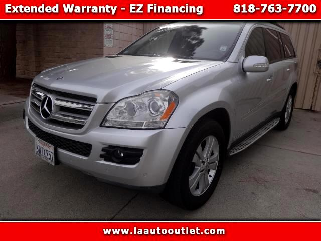2007 Mercedes GL-Class 2007 MBZ GL450 IS AUTO CHECK CERTIFEID SUPER CLEAN SUV SILVER WITH BLACK LEA