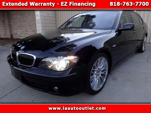 2007 BMW 7-Series 2007 BMW 750 LI SPORTS PREMIUM PACKAGE IS AUTO CHECK CERTIFIED SUPER CLEAN CAR BL