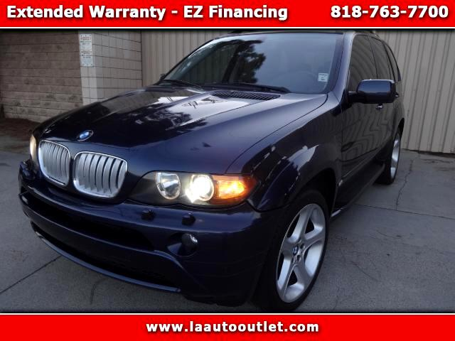 2006 BMW X5 2006 BMW X5 30 PREMIUM PACKAGE AUTO CHECK CERTIFIED SUPER CLEAN SUV BLUE WITH BLACK IN
