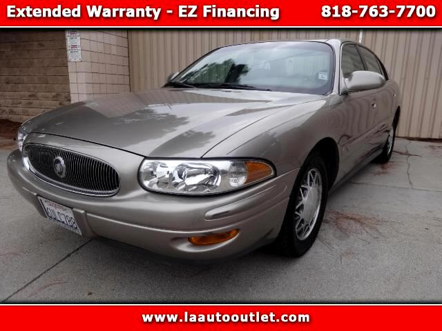 2002 Buick LeSabre 2002 BUICK LeSabre limited IS AUTO CHECK CERTIFIED SUPER CLEAN SEDAN AUTOMATIC H