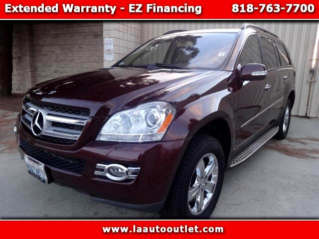 2008 Mercedes GL-Class 2008 MBZ GL 450 PACKAGE 2 IS AUTO CHECK CERTIFIED SUPER CLEAN SUV BAROLO RED