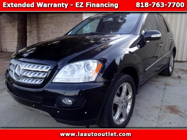 2006 Mercedes M-Class 2006 MBZ ML 500 IS AUTO CHECK CERTIFIED 2 OWNER SUV AUTOMATIC HAS 129216 MILE