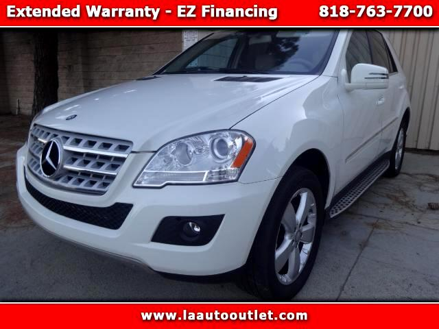 2011 Mercedes M-Class 2011 MBZ ML 350 PACKG 1 IS CAR FAX CERTIFIED ONE OWNER SUV AUTOMATIC HAS 7740