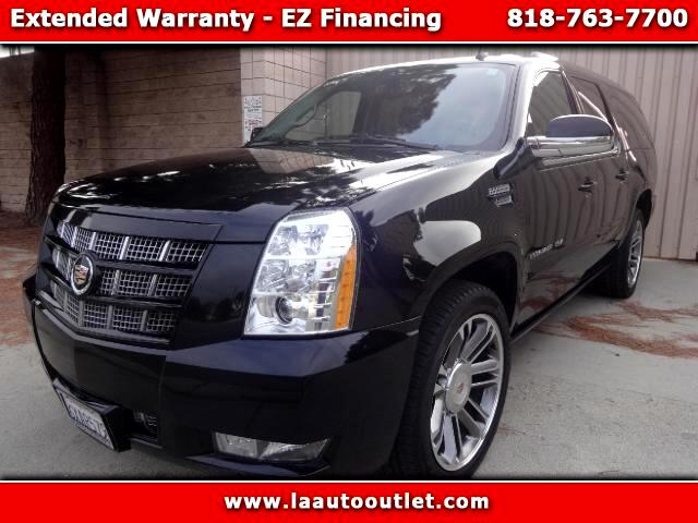 2012 Cadillac Escalade 2012 CADILLAC ESCALADE ESV PREMIUM IS CAR FAX CERTIFIED ONE OWNER SUV BLACK