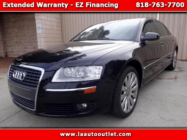 2006 Audi A8 2006 AUDI A8 L QUATTRO AWD IS CAR FAX CERTIFIED ONE OWNER CAR AUTOMATIC HAS 109715 MIL