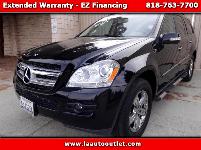 2007 Mercedes GL-Class 2007 MBZ GL450 PACKAGE 1 IS CAR FAX CERTIFIED ONE OWNER SUV BLACK WITH TAN L