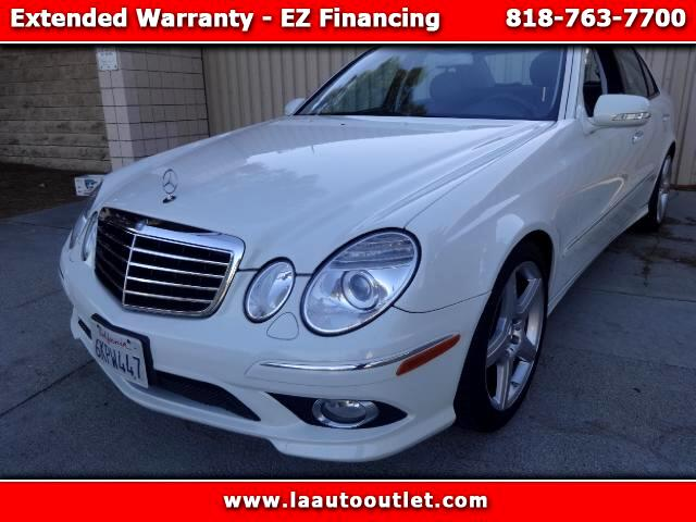 2009 Mercedes E-Class 2009 MBZ E 350 SPORTS PACKAGE IS AUTO CHECK CERTIFIED ONE OWNER SUPER CLEAN CA