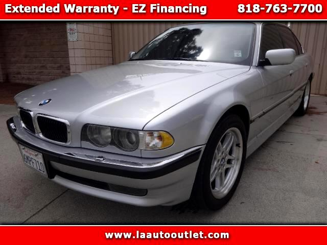 2001 BMW 7-Series 2001 BMW 740 IL SPORTS PACKAGE IS AUTO CHECK CERTIFIED SUPER CLAN CAR SILVER R WI