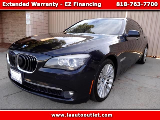 2009 BMW 7-Series 2009 BMW 750 I CONVENIENCE LUXURY SPORT PACKAGE IS CAR FAX CERTIFIED SUPER CLEAN C