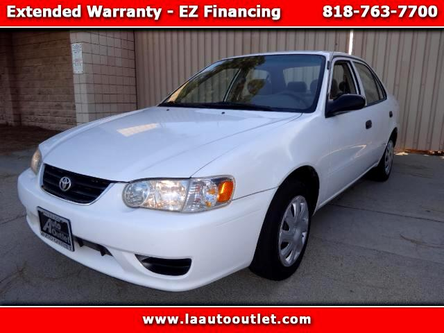 2001 Toyota Corolla 2001 TOYOTA COROLLA CE IS CARFAX CERTIFIED ONE OWNER CAR AUTOMATIC HAS 132808 M