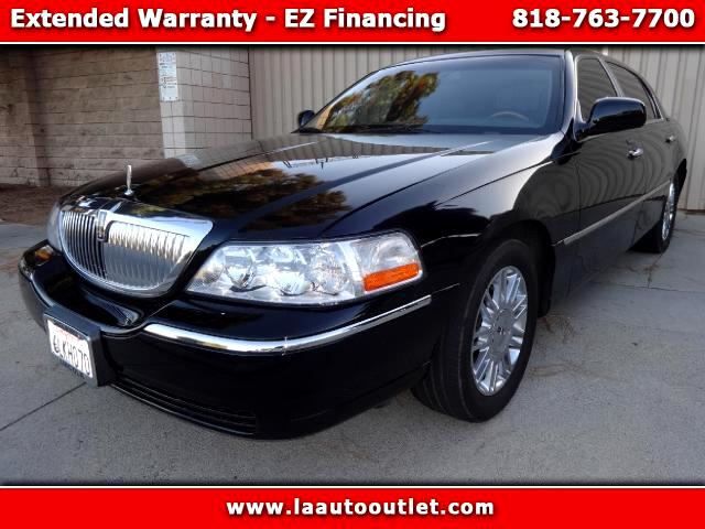 2010 Lincoln Town Car 2010 LINCOLN TOWN CAR SIGNATURE LIMITED CONTINENTAL EDITION IS AUTO CHECK CERT