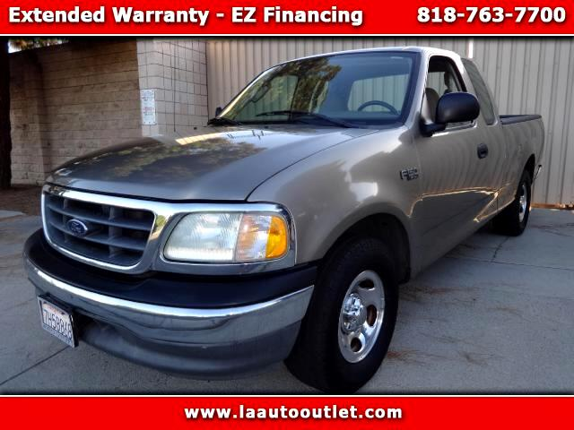 2003 Ford F-150 2003 FORD F150 XL X CAB IS CARFAX CERTIFIED SUPER CLEAN PICK UP TRUCK AUTOMATIC HAS