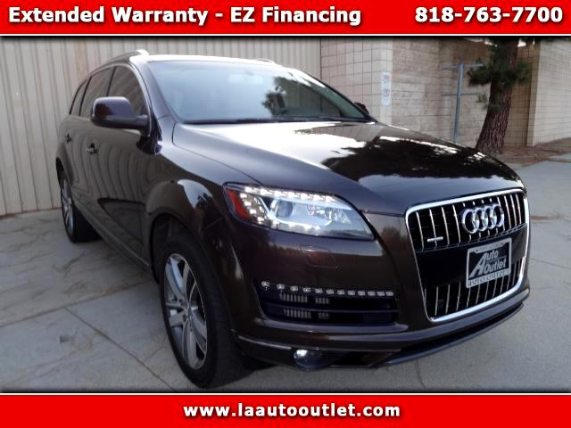2011 Audi Q7 2011 AUDI Q7 PREMIUM TDI PLUS QUATTRO IS AUTO CHECK CERTIFIED ONE OWNER SUV BROWN WITH