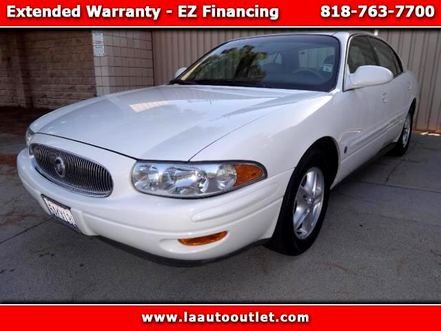 2002 Buick LeSabre 2002 BUICK LESABRE LIMITED IS CAR FAX CERTIFIED SUPER CLEAN CAR WHITE WITH TAN L