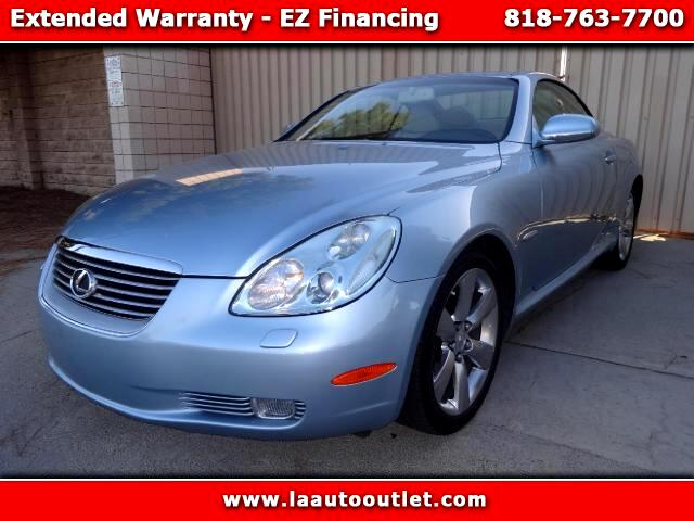 2004 Lexus SC 430 2004 LEXUS SC 430 CONVERTIBLE PEBBLE BEACH EDITION IS AUTO CERTIFIED SUPER CLEAN C